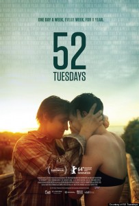 """52 Tuesdays poster"" by Source (WP:NFCC#4). Licensed under Fair use of copyrighted material in the context of 52 Tuesdays"">Fair use via Wikipedia."