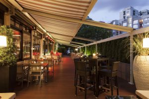 Crowne Plaza Berlin - Wilson's Restaurant Terrasse © Crown Plaza Berlin