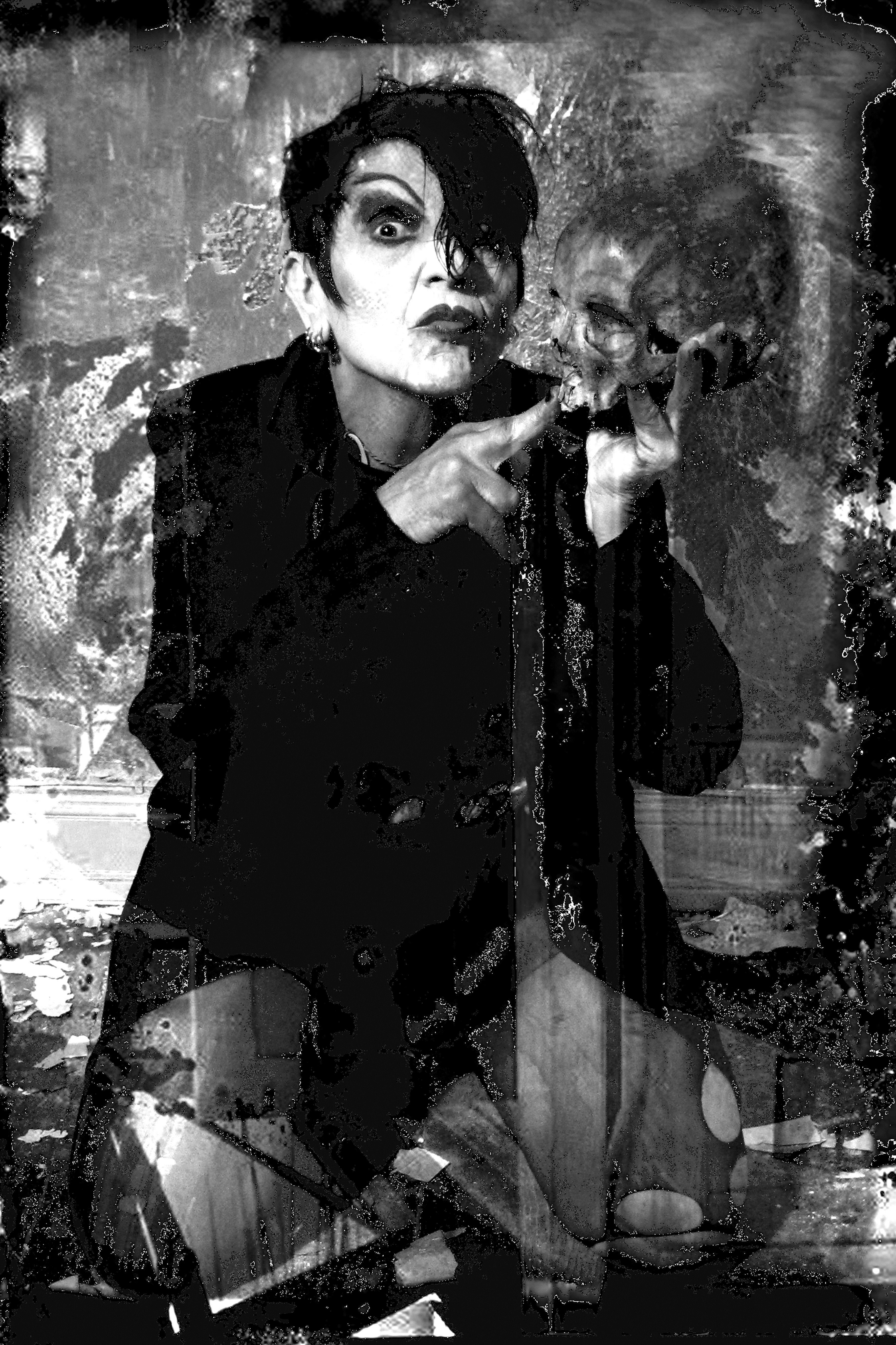 Aus der Serie: Die Zeit gehört mir, In: Sinfonie des Lebens (Konkursbuch Verlag 2016) © Krista Beinstein, facebook.com/Krista-Beinstein-151768794874197