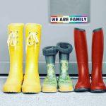 Regenbogenbunter Familienblog